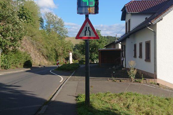 Installation Geschwindigkeitsanzeigen
